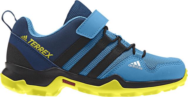 adidas TERREX AX2R CF Sko Børn, shock cyancore blackshoyel